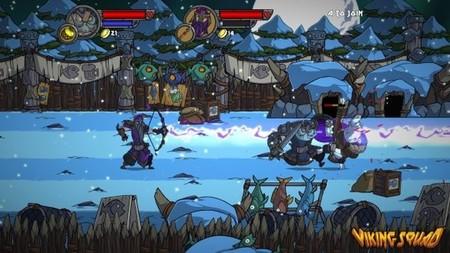 A falta de Castle Crashers en PS4, bien puede valer Viking Squad