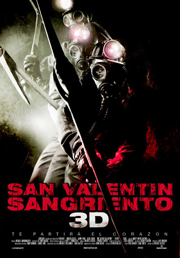 'San Valentín sangriento', cartel y tráiler del remake en 3D