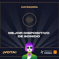 Mejor dispositivo de sonido: vota en los Premios Xataka Orange 2021