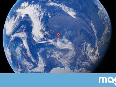 El punto más inaccesible de la Tierra es tan remoto que los humanos más cercanos a él son los astronautas