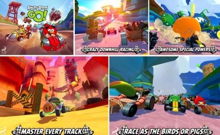 Llegó Angry Birds GO! el equivalente a Mario Kart de Rovio