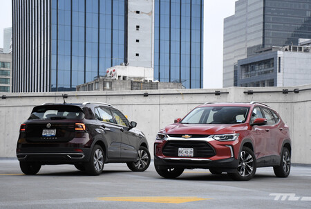 Chevrolet Tracker Vs Vw T Cross Mexico Comparativa 6