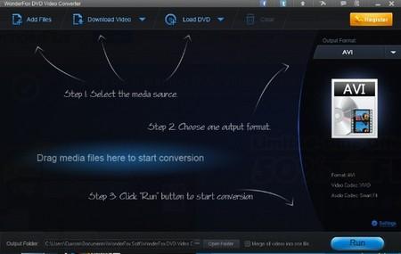 WonderFox DVD Video Converter, buena opción para pasar tus DVD a un archivo digital sin complicaciones
