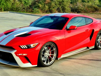 Ford Mustang GTT, el bastardo entre un Mustang y un Ford GT que debutará en el SEMA