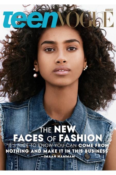 Teen Vogue Portada Agosto 2015 Lineisy Montero Imaan Hammam Aya Jones 4