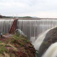 En Aguascalientes, una mujer murió al caer por una presa mientras intentaba tomarse una selfie
