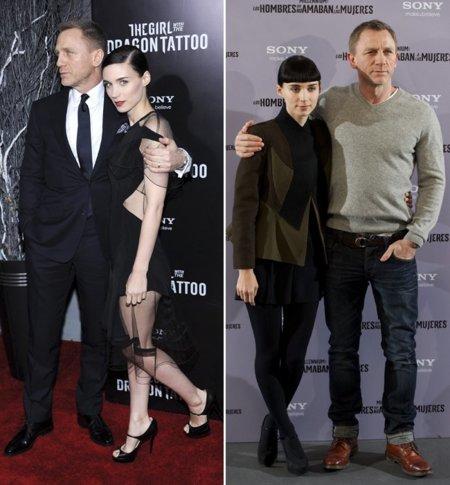 Rooney Mara Daniel Craig