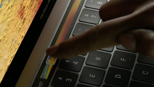 Apple Macbook Event Oct 2016 Touch Bar