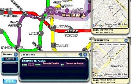 Subway Path Finder, web con rutas y datos del metro de grandes ciudades