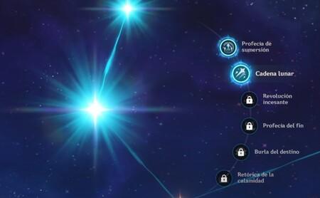 Constelaciones de Mona Genshin Impact
