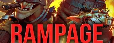 """Rememoramos algunos de los mejores """"Rampages"""" de la historia de Dota 2"""