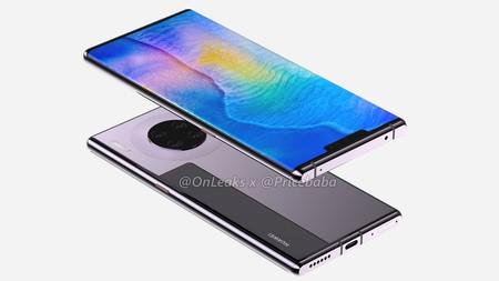 Huawei Mate 30 Pro Render Filtracion Diseno 2
