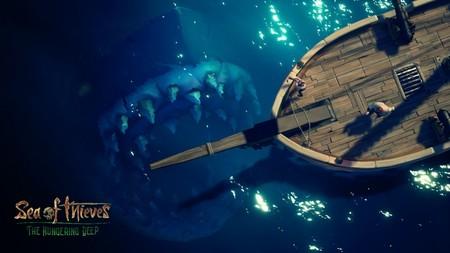 El temible Megalodón llega a Sea of Thieves con The Hungering Deep, su primera expansión que ya se puede descargar