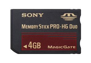 Tarjetas Memory Stick Pro-HG
