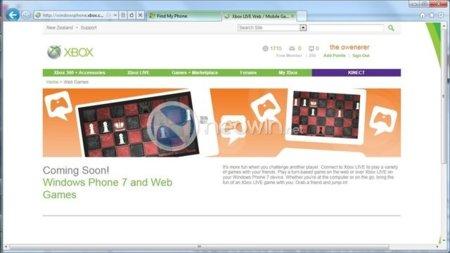 Los juegos de Windows Phone 7 podrían funcionar también en el navegador