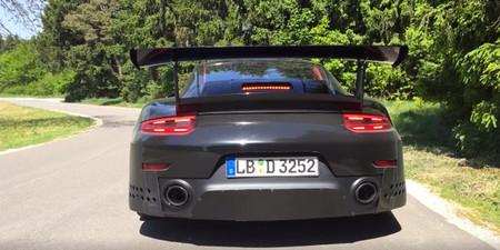 ¡Brutal! Así suena y acelera con launch control el próximo Porsche 911 GT2 RS