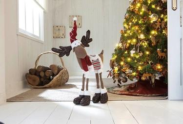 Leroy Merlin apuesta por los textiles en sus ambientes decorados para Navidad