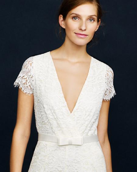 Las novias fashion y minimalistas visten de J.Crew