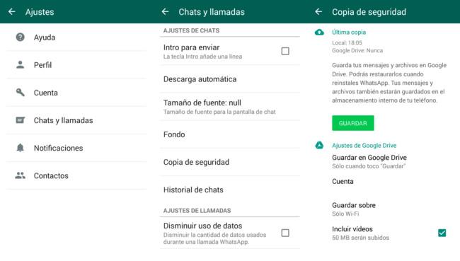 Cómo conservar todos tus mensajes o chats de WhatsApp al cambiar de móvil