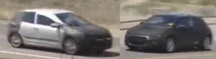 Vídeos espía del Volkswagen Scirocco y Golf VI