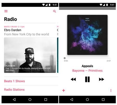 Apple Music Android 2 0 Actualizacion 2
