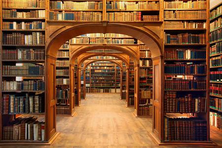 The Oberlausitzische Library Of Science Gorlitz Germany
