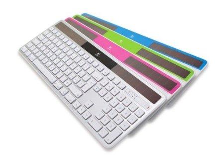 Olvídate de las pilas con el teclado Wireless Solar Keyboard K750 de Logitech para Mac