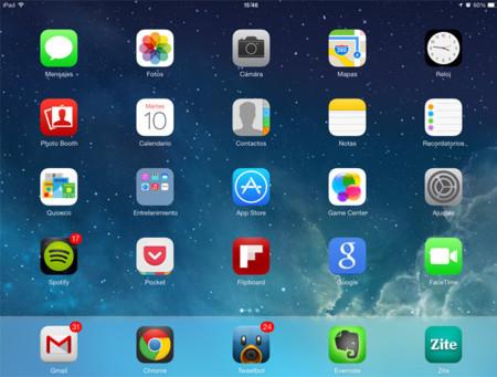 iOS Inicio