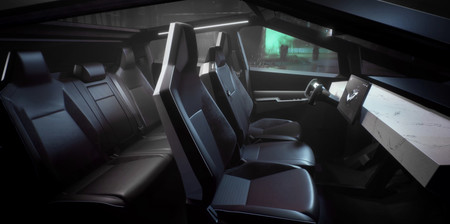 Tesla Pick Up Interior