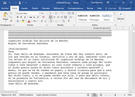 Cómo Recuperar Un Documento De Word Corrupto