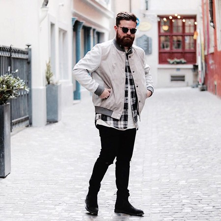 El Mejor Street Style De La Semana El Renacer De La Bomber Jacket Retoma Las Calles 11