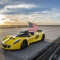 Así batió el Hennessey Venom GT Spyder al Bugatti Veyron: 427,44 km/h, averiado y con 300 cv menos