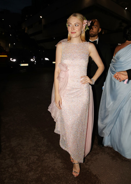 Dakota Fanning chopard cannes