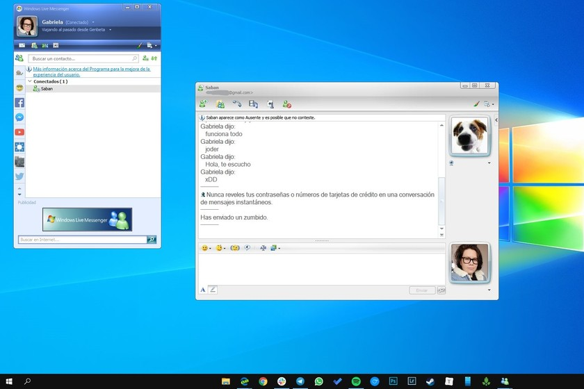 Someone has revived the legacy MSN messenger so you can send
