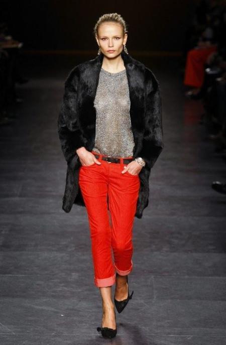pantalo rojo