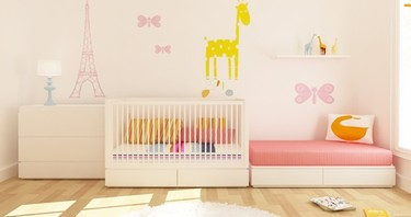Habitaciones modulares para bebé de DucDuc