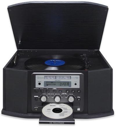 Radio, CD, vinilos... de Teac