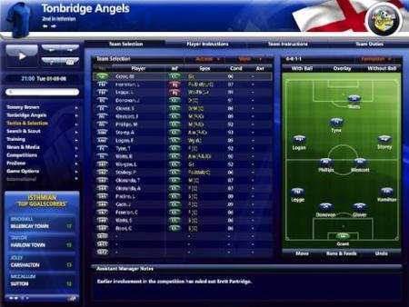 'Championship Manager 2009': Nuevos detalles y primeras capturas