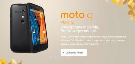 Es oficial, Moto G Forte exclusivo para México
