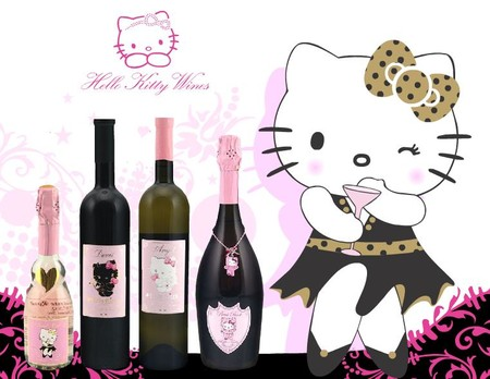 Hello Kitty Wine 2