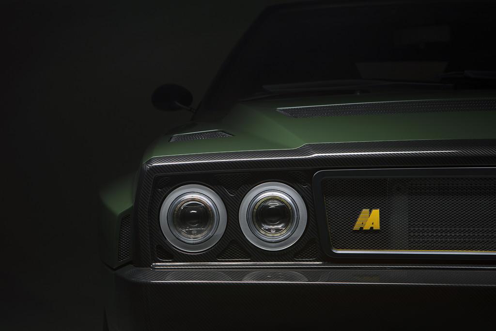 Lancia Delta Futurista detalle