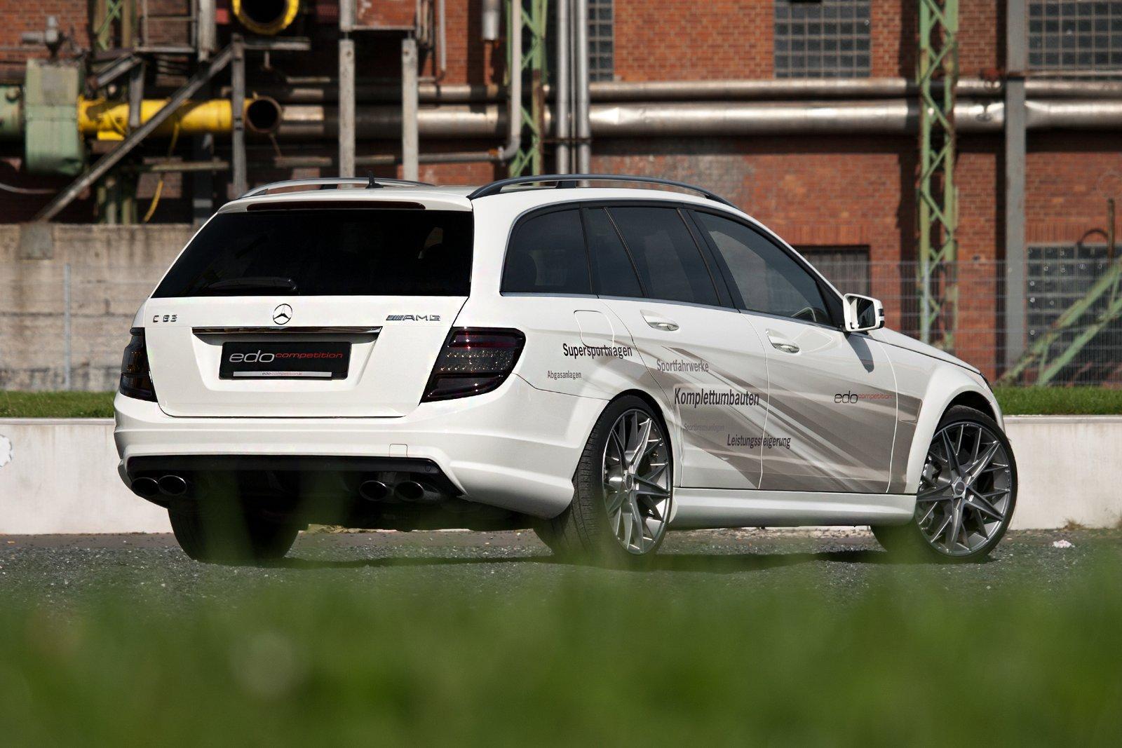 Mercedes C63 AMG Wagon por Edo Competition