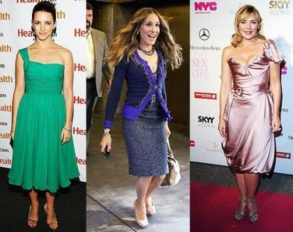 Charlotte, Carrie y Samantha siguen de promoción, por separado