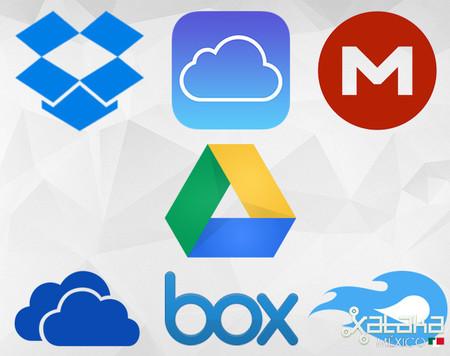 Comparativa entre los servicios más populares de almacenamiento en la nube