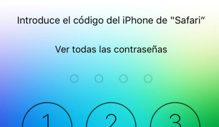 Contraseñas iOS 9