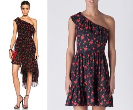 Cherry Saint Laurent Dress