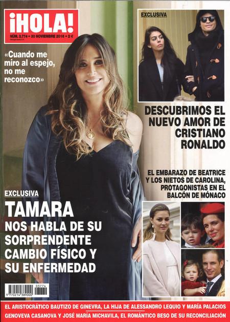 Tamara, siempre divina