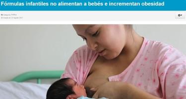 Promover la lactancia materna está muy bien (a menos que lo hagas con mentiras acerca de la leche artificial)