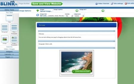 Blinkweb, nueva opción para crear sitios web en minutos