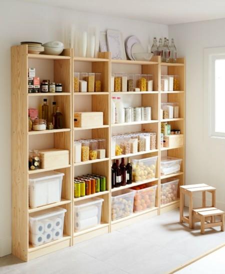 Si te gusta cocinar te encantar n estas ideas para for Muebles para despensa cocina